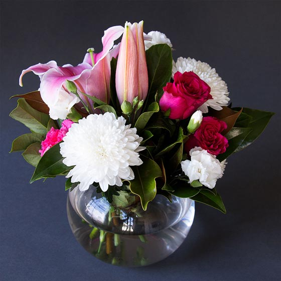 mothers day flower pink white