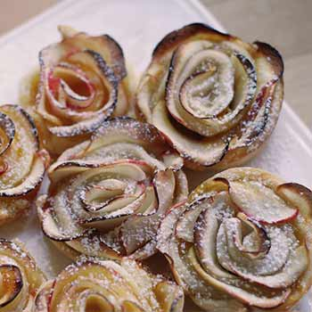 How to make Apple Pie Roses