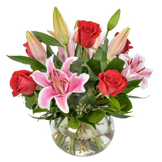 Interflora Australia's 'Be Mine' Valentine's Day arrangement