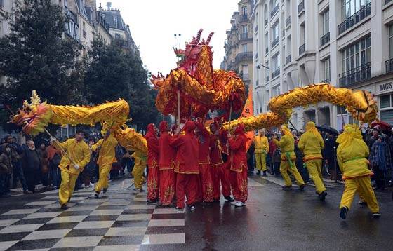 Chinese New Year parades