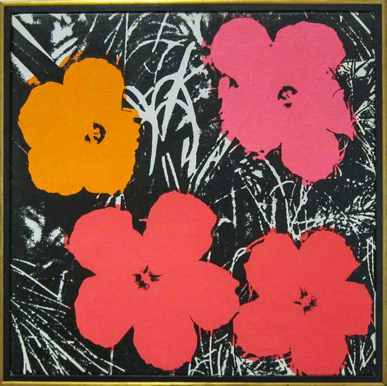 Flower art - Andy Warhol's Flowers