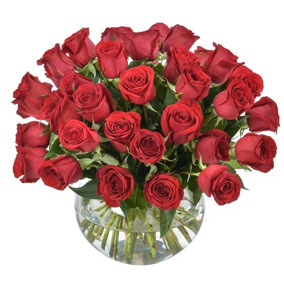 Interflora Australia's 'Forever Yours' Valentine's Day arrangement