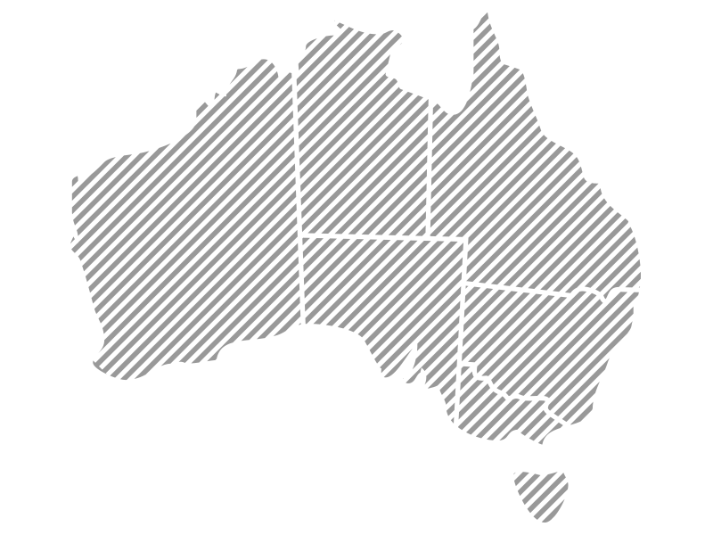 Aus Locations Map