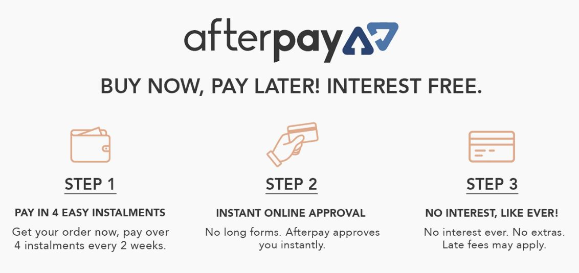 595515ad479 Ordering flowers with Afterpay is easy! Simply choose Afterpay as your  payment method at the checkout