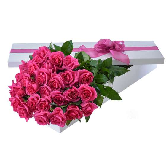 Interflora Australia's pink 'Make it Special' Valentine's Day arrangement