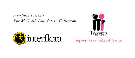Interflora and McGrath Foundation Logos