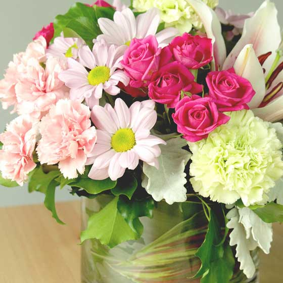 Flowers - a very popular gift for Mother's Day