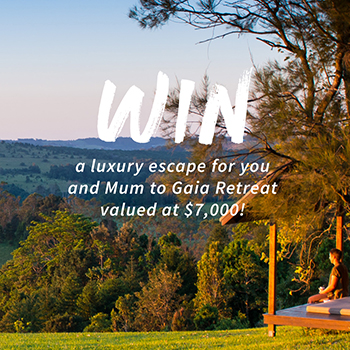 Win a luxury escape for 2 to Gaia Retreat valued at $7,000!