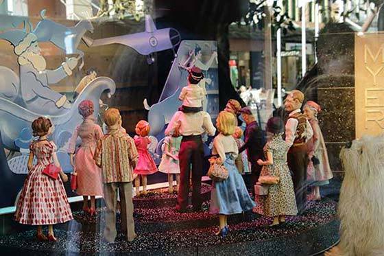 melbourne myer christmas windows