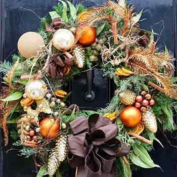 Christmas at Neill Strain Floral Couture London