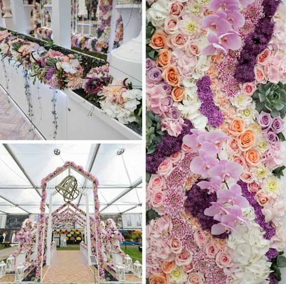 Interflora UK's RHS Chelsea Flower Show for 2016