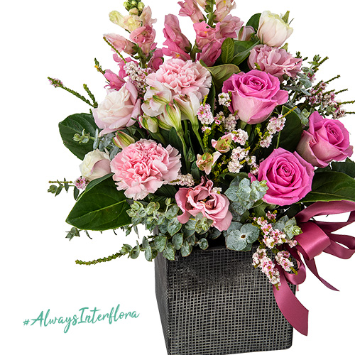 Interflora National Breast Cancer Foundation Flower Arrangement