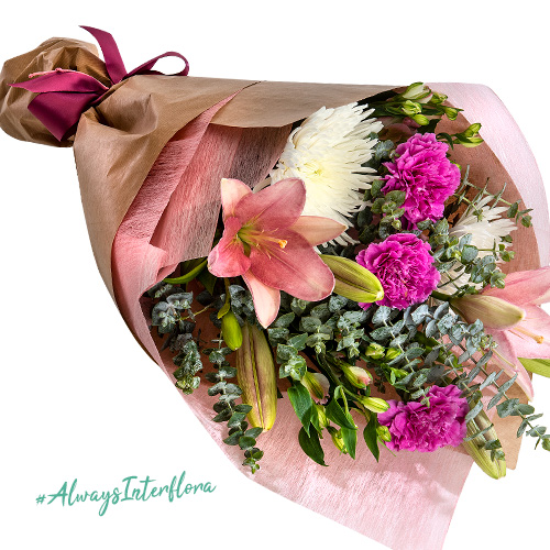 Interflora National Breast Cancer Foundation Pink Floral Bouquet