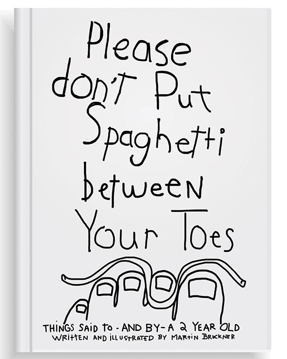 Spaghetti Toes first book cover