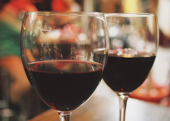 Red wine tastings at the Toowoomba Carnival