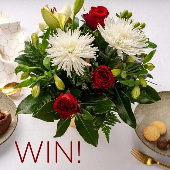 gift of giving christmas competition flowers