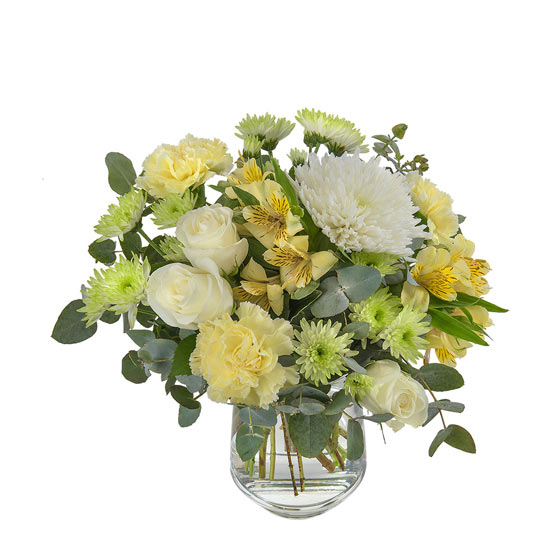 2018 easter gift guide interflora yellow and green easter flowers in vase negle Gallery