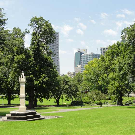 melbourne best gardens to explore flagstaff