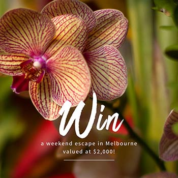 Win a Weekend Escape in Melbourne Valued at $2,000!