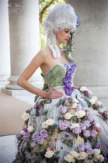 Neill Strain Floral Couture Photography by Tamara Peel