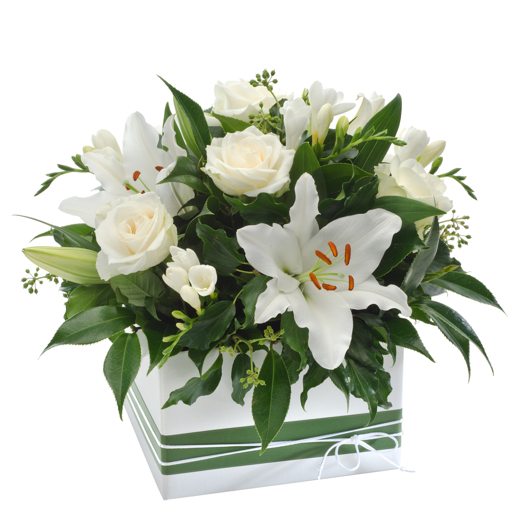 Image of Birthday Flowers - Mixed Box Arrangement Flowers