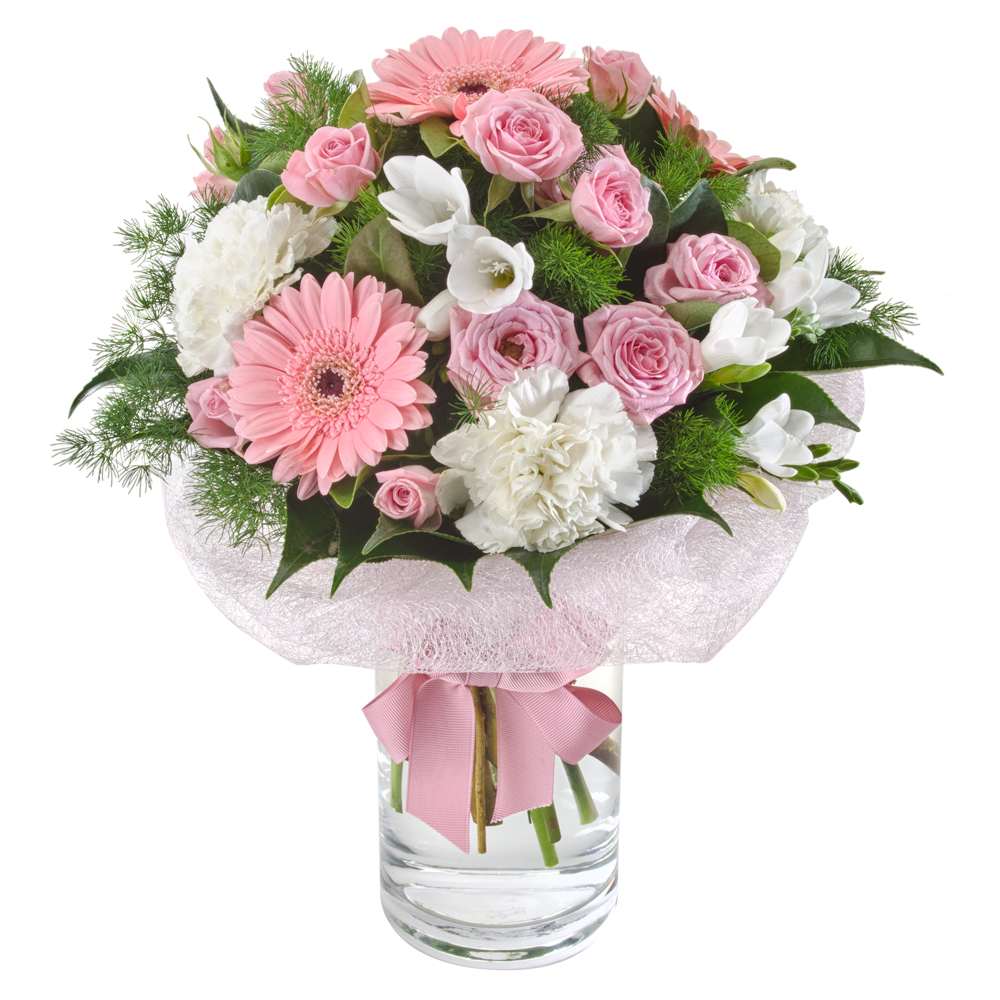 Image of Birthday Flowers - Bouquet of Posies Flowers